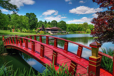 Designs Similar to Red Bridge At The Lake House