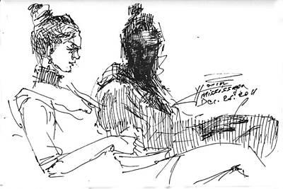 Sister Drawings