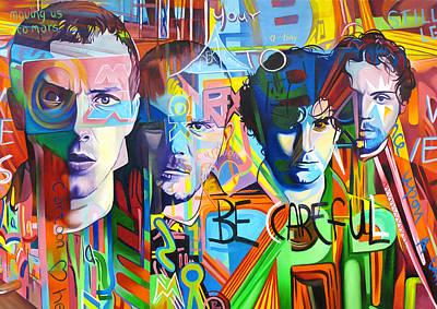 Coldplay Original Artwork