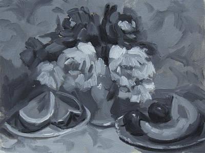 Monochromatic Study Paintings
