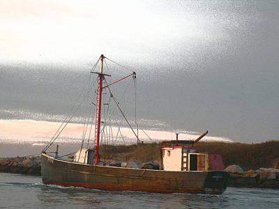 Eastern-rig Dragger Fishing Boat Photographs