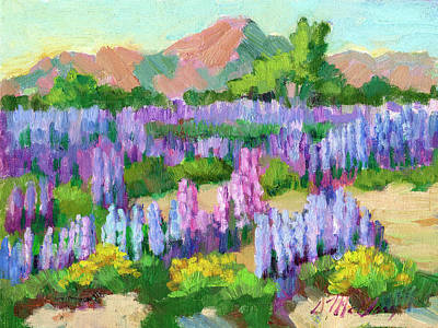 Designs Similar to Lupines At Cottonwood Spring