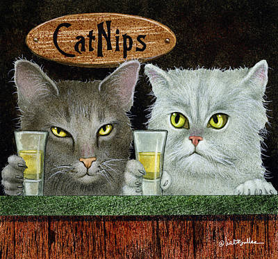 Designs Similar to Catnips... by Will Bullas