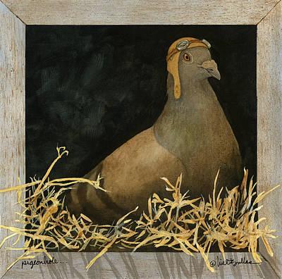 Homing Pigeon Paintings Prints