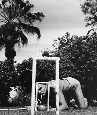 Designs Similar to Tricky Shot by Slim Aarons