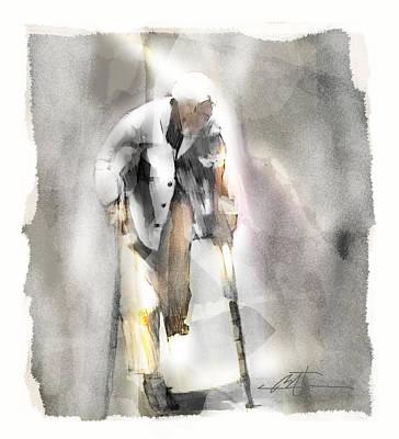 Crutch Digital Art Prints