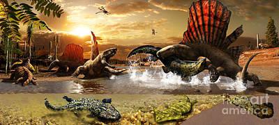Prehistory Digital Art