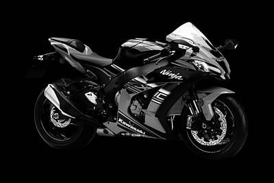 Kawasaki Motorcycle Art