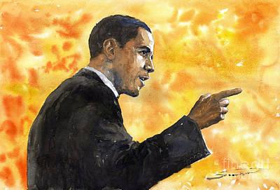 Barack Obama Paintings