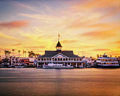 Photograph - Balboa Island, CA by Nazeem Sheik