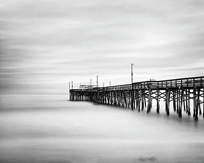Photograph - The Serene Pier by Nazeem Sheik