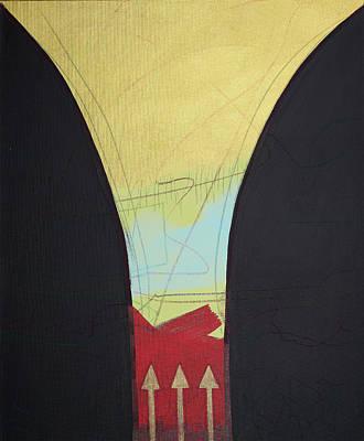 Painting - Funnel by Britta Burmehl