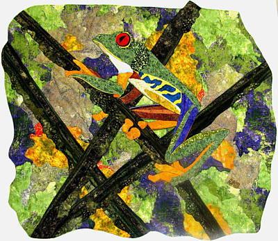 Frogs Tapestries - Textiles Original Artwork