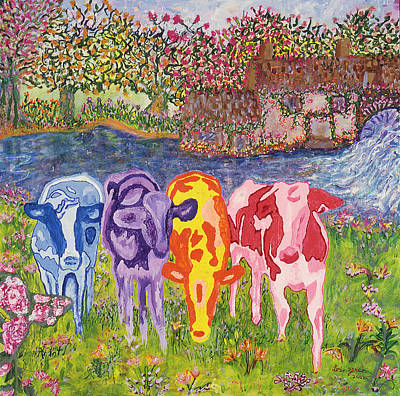 Designs Similar to Psychedelic Cows by Lorin Zerah