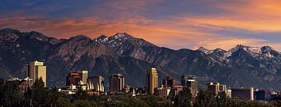 Designs Similar to Salt Lake City Skyline