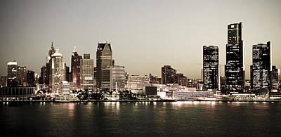 Designs Similar to Detroit Skyline At Night
