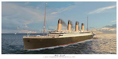Designs Similar to Maiden Farewell - 1912 Titanic