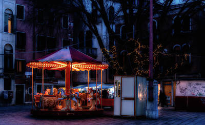 Designs Similar to Venice Carousel At Night