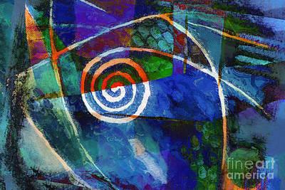 Hypnotic Mixed Media