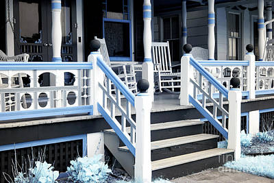 Designs Similar to Blue Railing In Ocean Grove