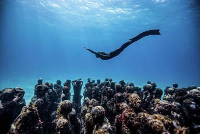 Angel Mermaids Ocean Photographs Prints