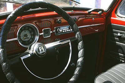 Beetle Car Interior Photographs