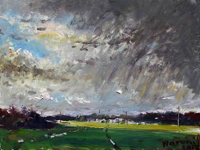 Farm Villages Paintings