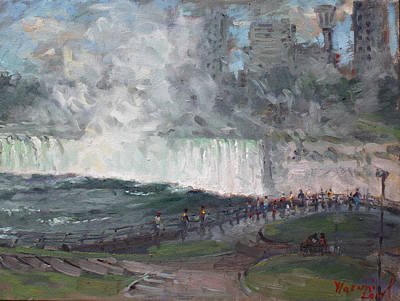 Horseshoe Falls Paintings