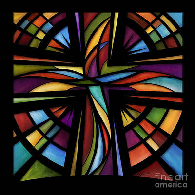 Stained Glass Mixed Media