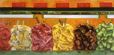 Gelateria Paintings
