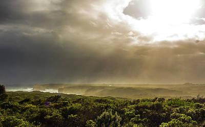 Photograph - Broken Clouds by Jeff Pfaller