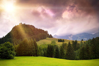 Photograph - Austrian Castle on the Hill by Sheri Vitullo
