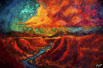 Painting - Water's Magic  by Tom McGee