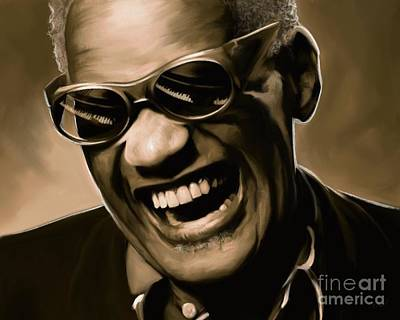 Music Soul Ray Charles Art