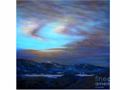 Painting - Comares at Night by Heather Harman