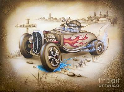 Painting - The Race by Rico Kohlstedt