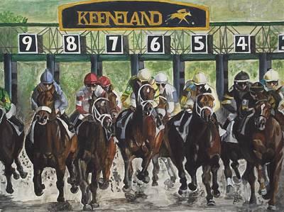 Keeneland Original Artwork