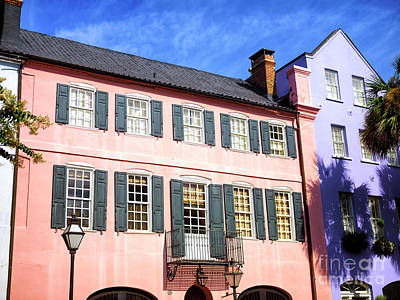 Designs Similar to Rainbow Row Pink In Charleston