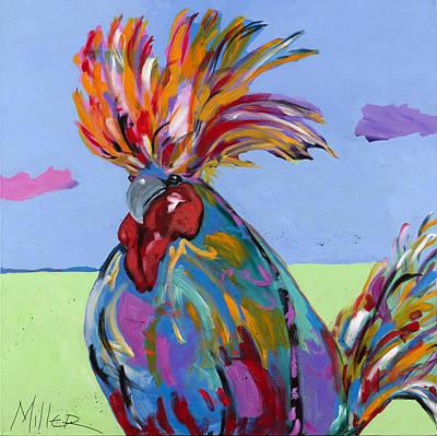 Big Rooster Paintings