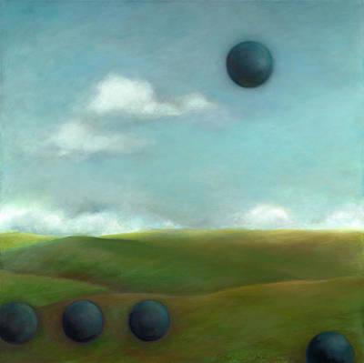 Juggling Balls Original Artwork