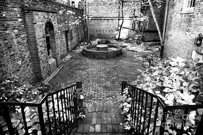 The Courtyard At The Old North Church Photographs