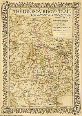 Historical Map Drawings