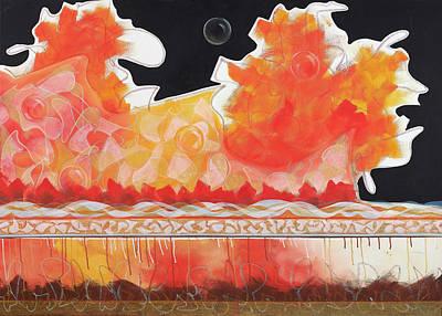 Painting - Dragon by Britta Burmehl