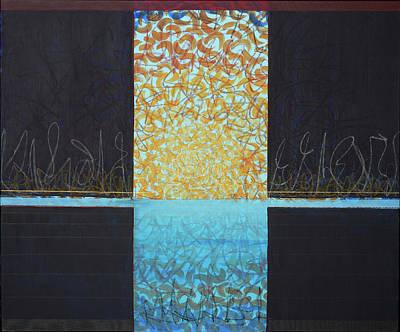 Painting - Horizon by Britta Burmehl