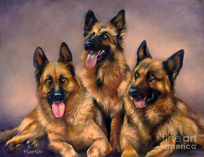 Painting - Three amigos by Heather Harman