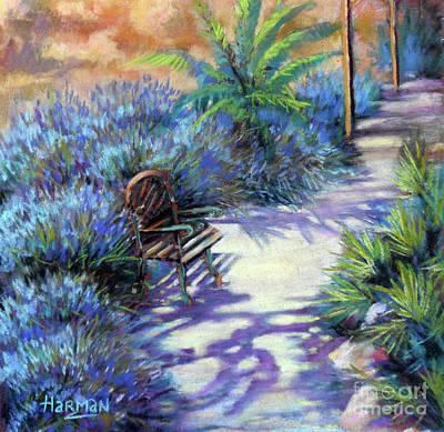Pastel - Finca Lavender by Heather Harman