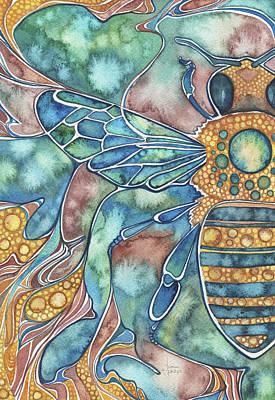 Nature Bee Art Prints