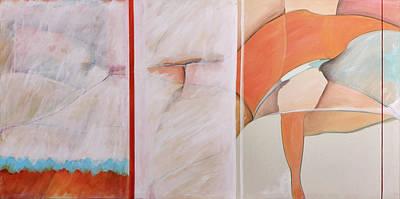 Painting - Balance by Britta Burmehl