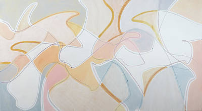 Painting - Shapes by Britta Burmehl