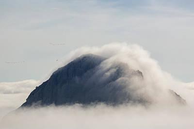 Photograph - Majestic Fog II by Mercedes Noriega